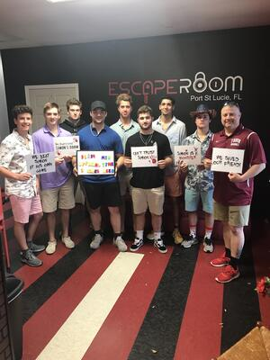 Team Guyette-Escape Room champs